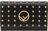 Fendi stud detail wallet bag