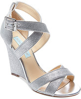 Blue by Betsey Johnson Cherl Wedge Sandals