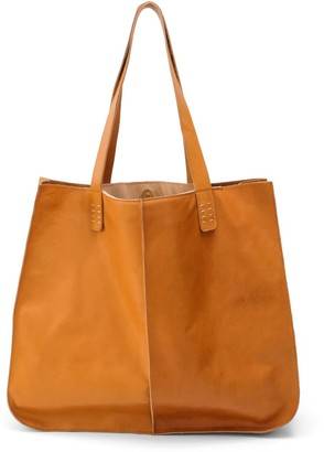 Neyuh Leather The Large Tote Brown