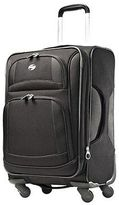 "American Tourister DeLite 21"" Carry On Spinner Luggage - Black"