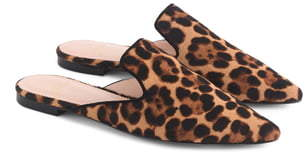 b8ef1e0152e Pointed Toe Genuine Calf Hair Slide