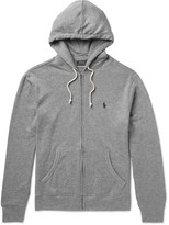 Polo Ralph Lauren Loopback Cotton-Blend Jersey Hoodie