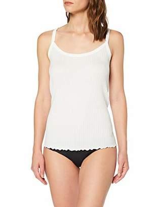 Marc O'Polo Body & Beach Women's W-SPAGHETTITRÄGERTOP Vest, (Size: Medium)