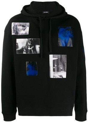 Raf Simons Laura Dern graphic hoodie