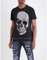 Philipp Plein Kiyo skull-embellished cotton-jersey T-shirt