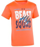 Under Armour Boys' Pre-School UA Beast Squad Short Sleeve T-Shirt