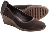 The Flexx Bread-N-Butter Wedge Pumps - Suede (For Women)