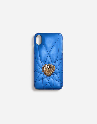 Dolce & Gabbana Calfskin Iphone Xs Max Devotion Cover