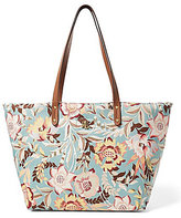 Lauren Ralph Lauren Bainbridge Collection Floral Nylon Tote