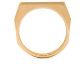 Chloé Bianca Brass Ring in Gold