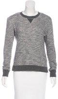 Rag & Bone High-Low Sweatshirt Top
