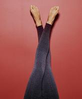 "Marika Women's Active Pants H. - 27"" Heather Charcoal & Burgundy Seamless Dip-Dye Leggings - Women"