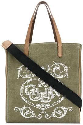 Golden Goose Graphic-Print Tote Bag