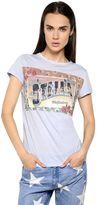 Stella McCartney Stella Postcard Printed Cotton T-Shirt