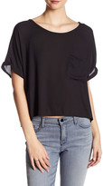 Lush Short Sleeve Blouse