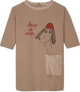 Bobo Choses Organic cotton long-sleeved dress 4-11 years