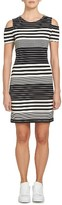 1 STATE Women's 1.state Stripe Body-Con Dress