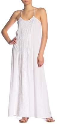 BOHO ME Embroidered Maxi Dress