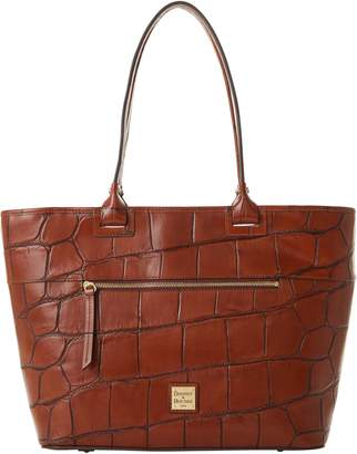 Dooney & Bourke Denison Beacon Large Zip Tote