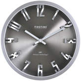 Asstd National Brand FirsTime Steel Dimension Wall Clock