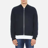 Ps By Paul Smith Textured Bomber Jacket Navy