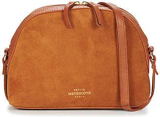 Petite Mendigote BRANDY women's Shoulder Bag in Brown
