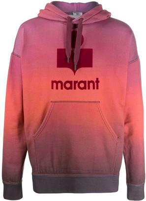Isabel Marant Miley logo hoodie