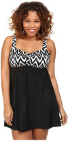 Athena Plus Size Sierra Underwire Swim Dress One-Piece