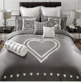 By Caprice Krystle Embroidery Heart Duvet Cover Ks