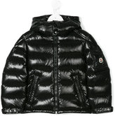 Moncler padded quilted jacket - kids - Feather Down/Polyamide/Racoon Fur - 4 yrs