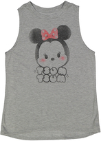 Jerry Leigh Heather Gray Tsum Tsum Minnie Tee - Women
