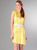 Twelfth Street by Cynthia Vincent Printed Border Dress
