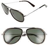 MCM Women's 58Mm Aviator Sunglasses - Black