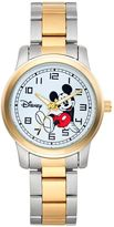 Disney Disney's Mickey Mouse Men's Two Tone Watch