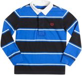 Chaps Boys 4-7 Long Sleeve Striped Rugby Shirt