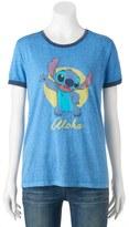 "Disney Disney's Lilo & Stitch Juniors' ""Aloha"" Graphic Tee"