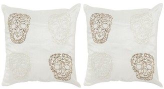 Safavieh Quatre Skull Throw Pillow