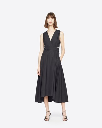 3.1 Phillip Lim Poplin V-Neck Dress