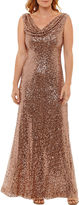 Jackie Jon Sleeveless Evening Gown