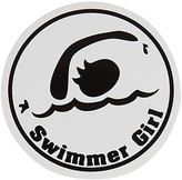 Bay Six Swimmer Girl Round Decal 27235