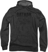 Batman Mens Grey Noise Hoodie