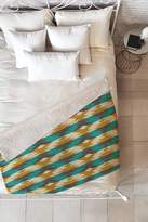 Deny Designs Holli Zollinger native diamond Faux Shearling Throw Blanket - 60 x 50