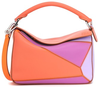 Loewe Paula's Ibiza Puzzle Small leather shoulder bag