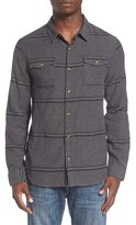 O'Neill Men's 'Ashland' Herringbone Stripe Flannel Shirt