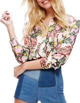Free People Under The Palms Button Down Shirt