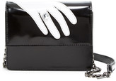 Alice + Olivia Clee Hand Ring Leather Crossbody