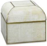 Williams-Sonoma Stone/Brass Box with Domed Top