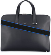 Furla Vulcano business tote - men - Calf Leather - One Size
