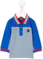 Roberto Cavalli contrast collar polo shirt