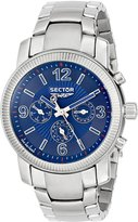 Sector Men's R3273639035 500 Analog Display Quartz Silver Watch
